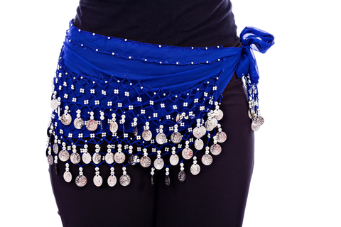 Only requirement for Celtic Bellydancing Drum Solo Choreography Is A Hip Scarf