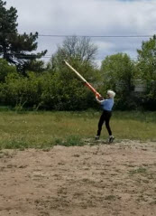 Maggie Rothermel's 1st Caber turn