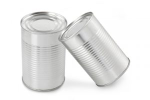 Canned food items can double as hand weights