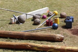 Implements and equipment of the Scottish Highland Games